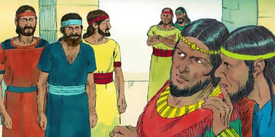 Estudio Biblia: 2 SAMUEL 10. Propuesta de paz