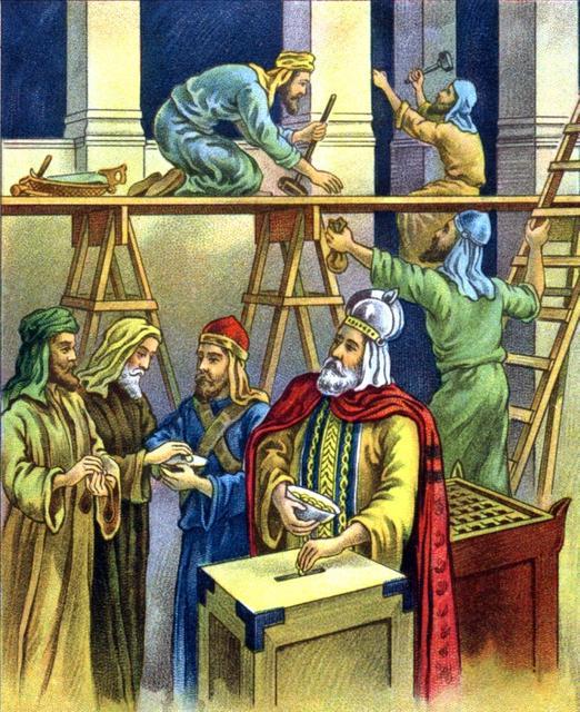 I AM COMING SOON! : Joash Repairs The Temple