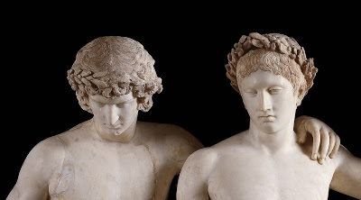 ANTINOUS THE GAY GOD: CASTOR AND POLLUX TWIN GODS OF HOMOSEXUALITY